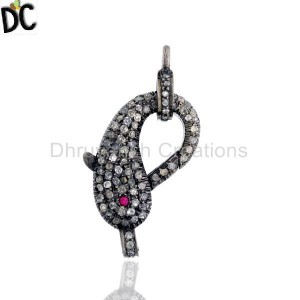 925 Sterling Silver Clasp And Hook Jewelry Findings Supplier from India