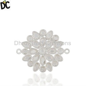 Customized Cz Gemstone  Jewelry Findings Manufacturers