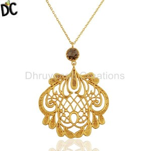 Brass Pendant And Necklace Wholesale from India