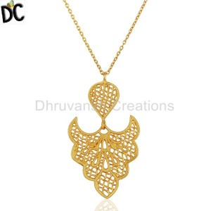 Brass Pendant And Necklace Supplier from India