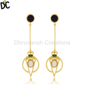 Plain Silver Earrings Wholesale in India