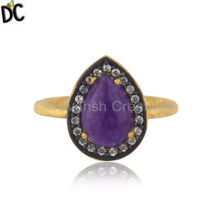 Sterling Silver Gemstone Ring Manufacturer