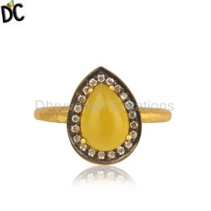 Sterling Silver Gemstone Ring Supplier