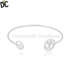 Plain Silver Cuff Supplier in Jaipur