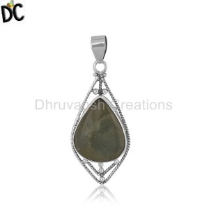 Sterling Silver Gemstone Pendant And Necklace Manufacturer