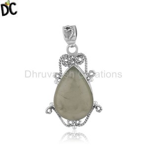 Sterling Silver Gemstone Pendant And Necklace Wholesale
