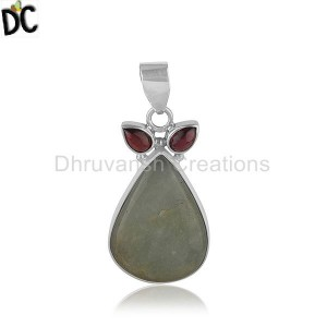 Sterling Silver Gemstone Pendant And Necklace Supplier