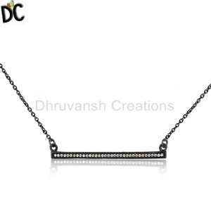 Sterling Silver Pendant And Necklace Supplier in India