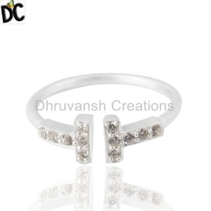 Customized Cz Gemstone Ring Manufacturers