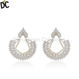 Sterling Silver Earrings Manufacturer in India