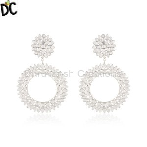 Sterling Silver Earrings Wholesale in India