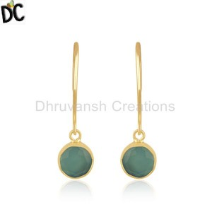 Sterling Silver Gemstone Earrings Manufacturer