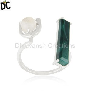 925 Sterling Silver Natural Multi Gemstone Ring Wholesale Suppliers