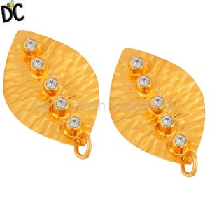 Gold Plated Fashion Jewelry Findings Manufacturer from India