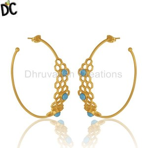 Brass Fashion Jewelry Earrings Wholesale