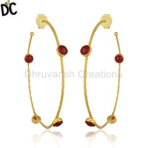 Brass Fashion Jewelry Earrings Manufacturer