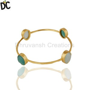 Gold Plated Fashion Bangle Suppliers from India