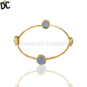 Gold Plated Fashion Bangle Supplier from India