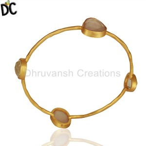 Gold Plated Fashion Bangle Manufacturers from India
