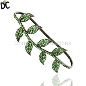 925 Sterling Silver Black Diamond Bracelet Supplier from India