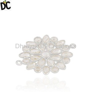 Cz Gemstone  Sterling Silver Jewelry Findings Manufacturers