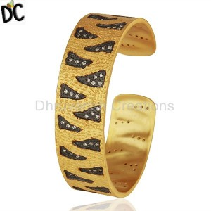 Gold,Black Plated Fashion Cuff Wholesale from India