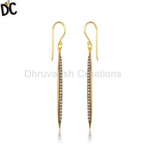 GoldBlack Silver Earrings Supplier in Jaipur