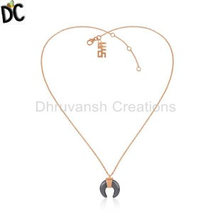 Rose Pendant And Necklace Wholesale