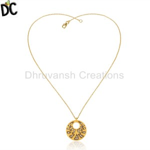 GoldBlack Silver Pendant And Necklace Wholesale in Jaipur