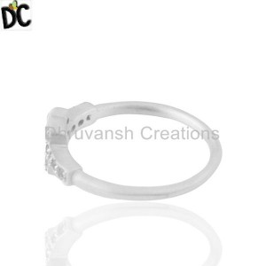Cz Gemstone Sterling Silver Ring Manufacturers