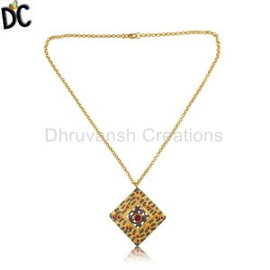 Gold,Black Pendant And Necklace Supplier