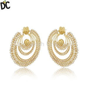 Gold Silver Earrings Supplier in India