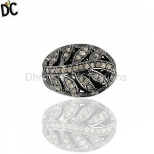925 Sterling Silver Beads And Balls Jewelry Findings Manufacturers from India
