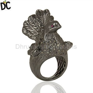 925 Sterling Silver Ring Designer Jewelry Manufacturers