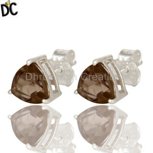 STERLING SILVER, Earrings, Gemstone Jewelry, Fine Gemstone Jewelry, Studs online jewellery stores Manufacturer