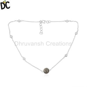 White Pendant And Necklace Wholesale