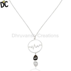 Customized Silver Pendant And Necklace Suppliers