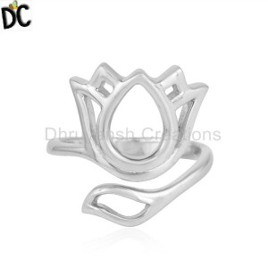 Beautiful Louts Designer 925 Fine Silver Silver Womens Rings
