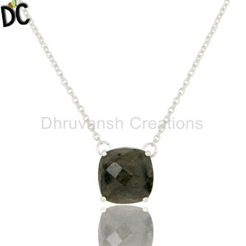 Silver Gemstone Jewelry