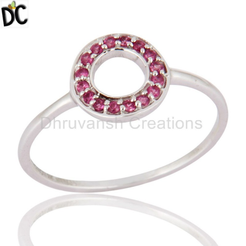 Solid Gold Sapphire Gemstone Handmade Ring Manufacturer Gold Jewelry