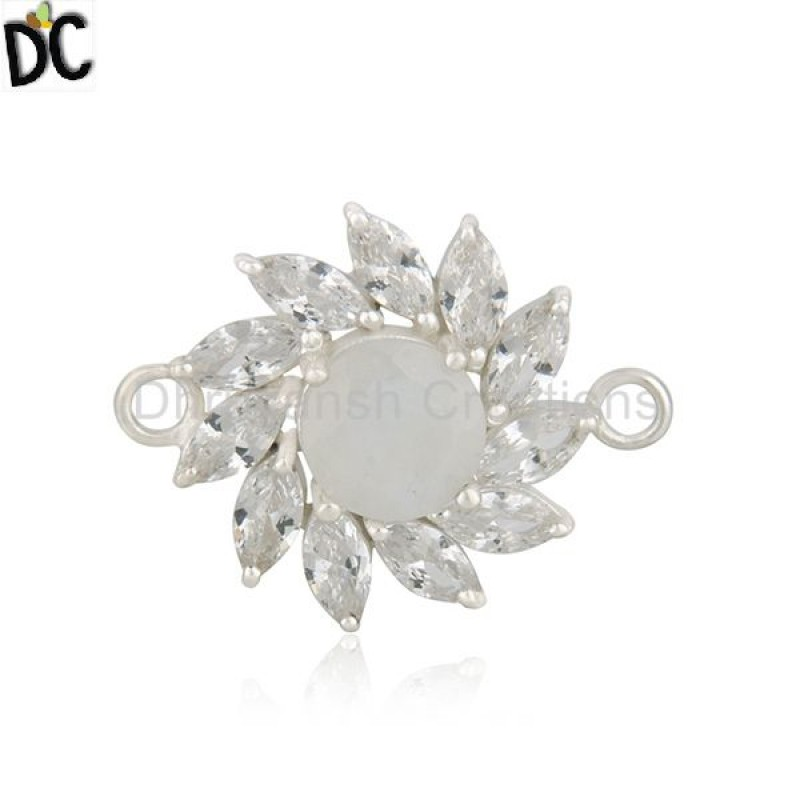 Sterling Silver Gemstone Jewelry Findings Supplier