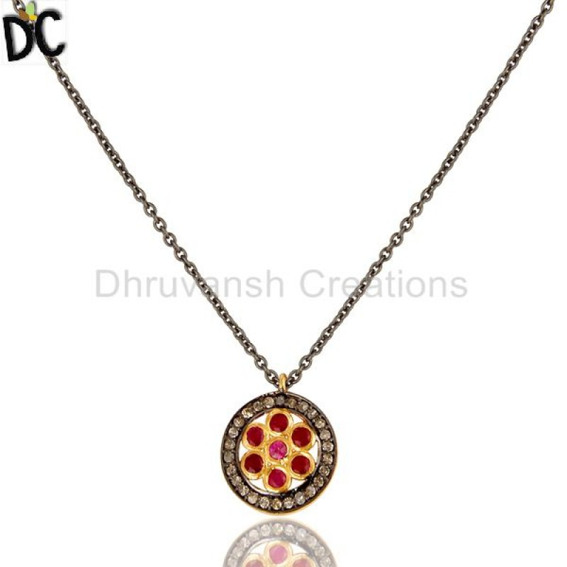 STERLING SILVER,Pendant,Diamond Jewelry,Diamond Jewelry,, handcrafted jewellery Manufacturer