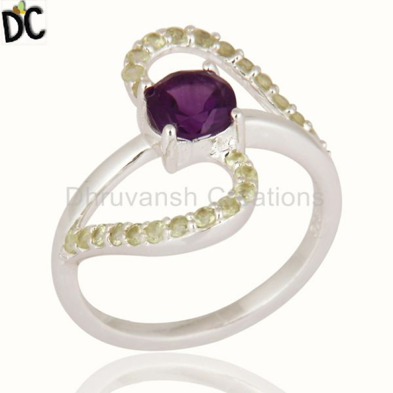STERLING SILVER, Ring, Gemstone Jewelry, Fine Gemstone Jewelry, Stackable affordable jewelry Manufacturer