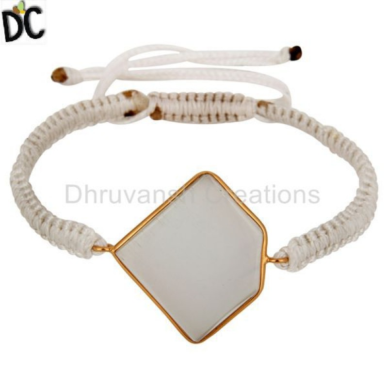 Silver Matte Finish Gold Vermeil Diamond Bangle Bracelets Supplier