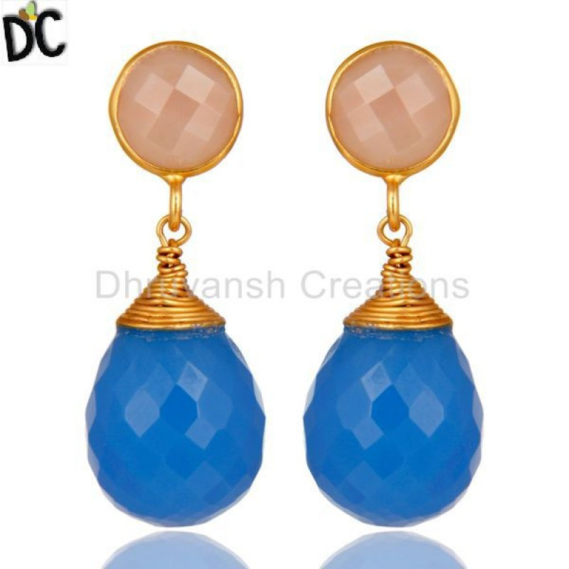 CHALCEDONY DYED BLUE,CHALCEDONY DYED ROSE