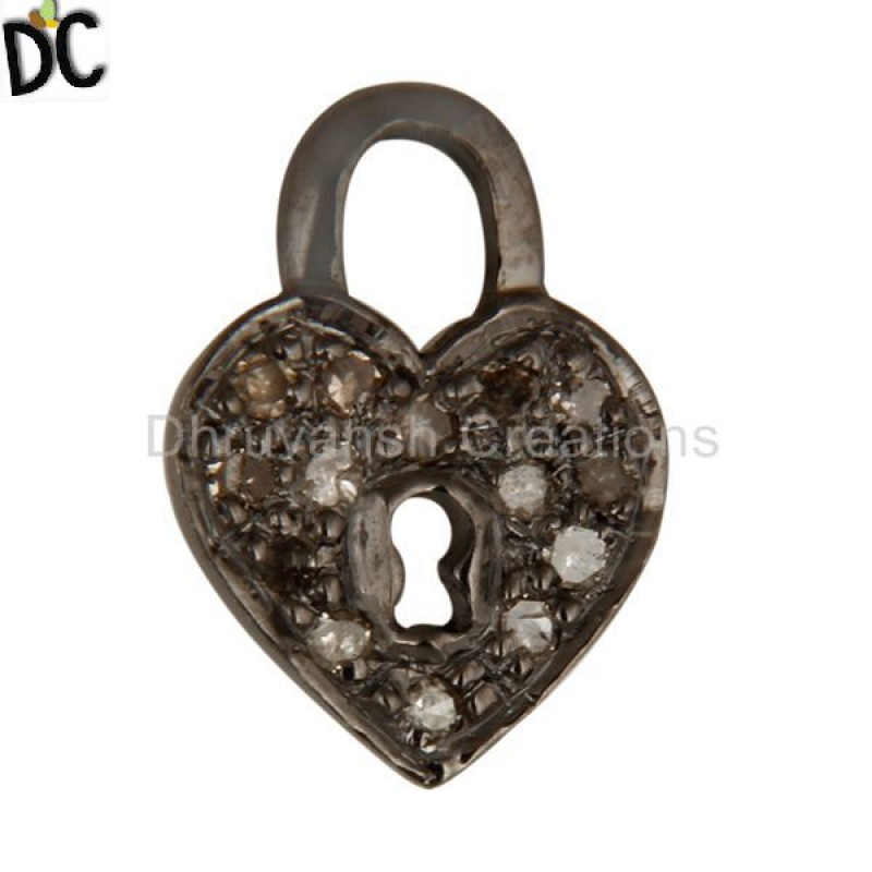 pave diamond charms supplier